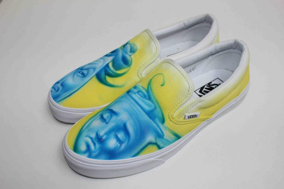 Conan O'Brien, Mister Cartoon & Dom Kennedy Design for Vans Custom Culture 2013 | KicksOnFire