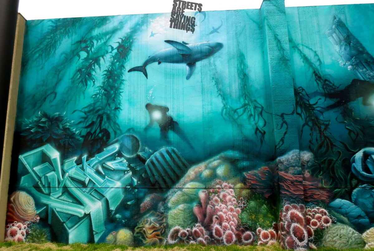 Cool Graffiti Walls Deep Sea Style – Sta...