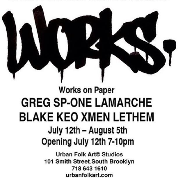 GREG [SP ONE] LAMARCHE + BLAKE [KEO] LETHEM