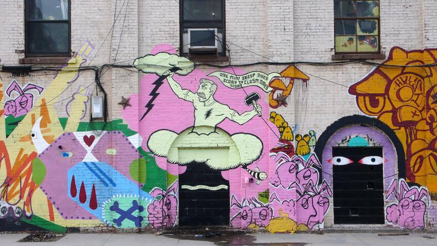 2013 Living Walls Street Art Conference Atlanta USA