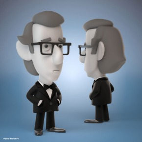 Stanley Shows Woody figure - Bigshot Toyworks