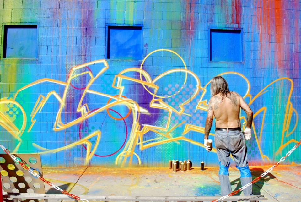 the graffiti art history in the modern cities portrayed as vandalism The art and message in graffiti  being challenged and raising controversy in our modern day  dispute on whether or not graffiti is a legitimate art.