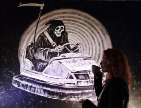 Banksy says sale of graffiti works taken from walls has been organized without his consent